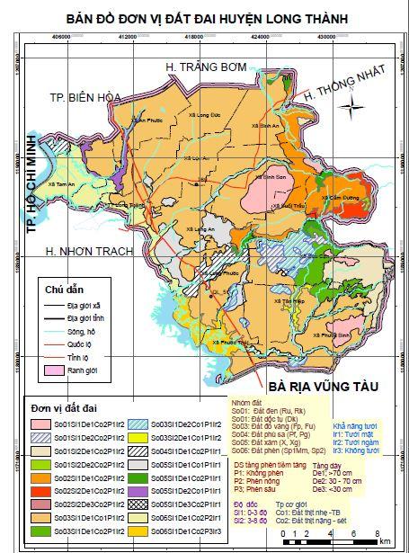 Ứng dụng GIS để đánh giá thích nghi đất đai